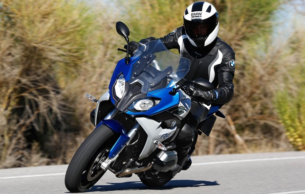 Picture BMW, moto, bike, speed, 2015, r1200rs