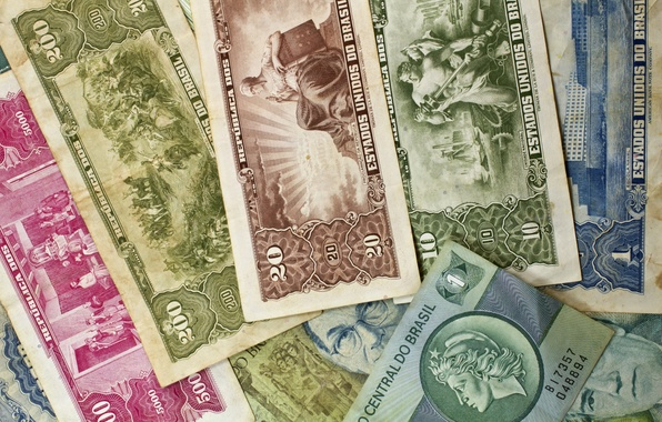 Picture paper, money, old, bills