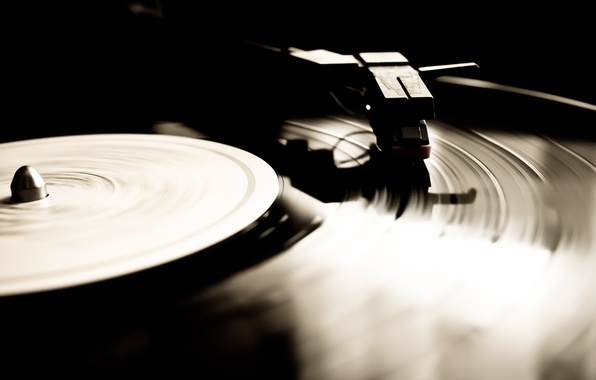 Picture macro, music, vinyl, record, gramophone