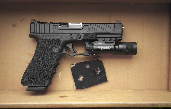 Picture weapons, Austria, Glock 17, self-loading pistol