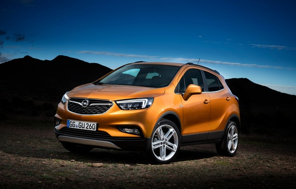 Photo wallpaper Opel, Opel, crossover, Mokka, mocha