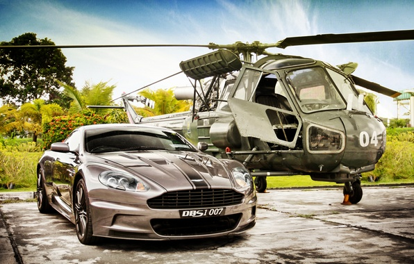 Picture spinner, aston martin, dbs, v12, James Bond