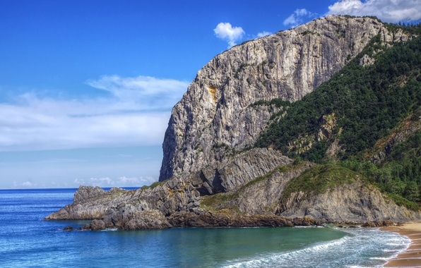 Wallpapers for theme bay of biscay wallpaper sea nature rock photo coast spain bay of biscay publicscrutiny Gallery