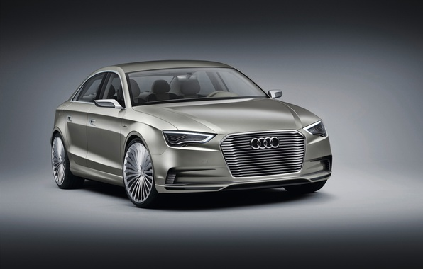 Picture Concept, Audi, Audi, sedan, Sedan, e-Tron, electric car