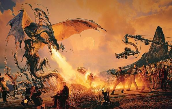Picture fire, the film, dragon