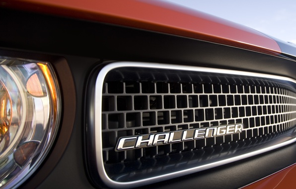 Picture grille, dodge, challenger, grill, radiator