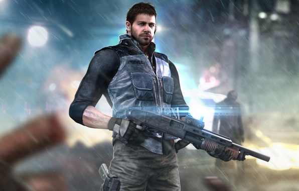 Picture resident evil, fan art, capcom, chris redfield, bsaa