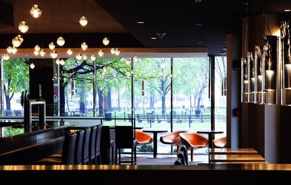 Picture furniture, interior, restaurant, items