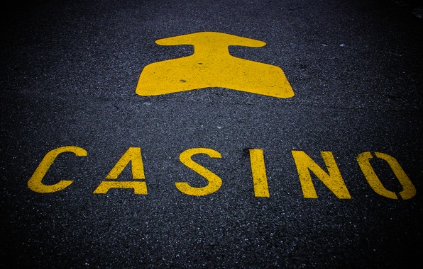 Picture asphalt, the inscription, arrow, index, casino, photo, photographer, casino, markus spiske