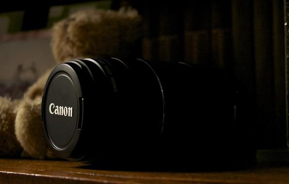 Picture macro, photo, furniture, bear, lens, Canon, lens, 75-300