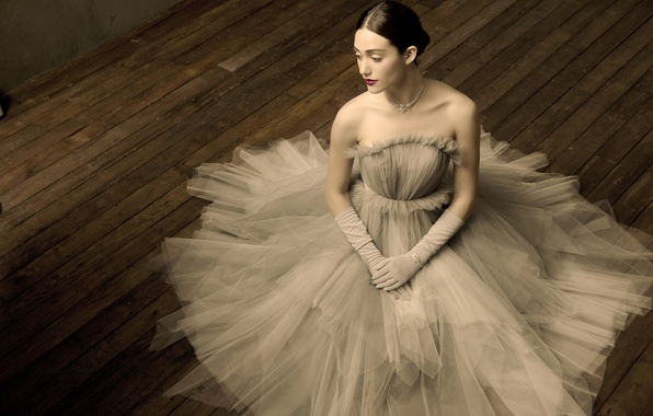 Picture girl, pose, dress, actress, singer, emmy rossum, Emmy Rossum