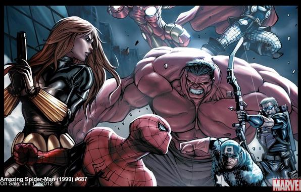 Picture Iron man, Iron Man, Captain America, Captain America, Spider-man, Thor, Thor, Black widow, The Avengers, …