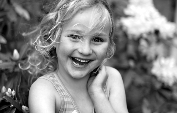 Picture smile, mood, portrait, girl