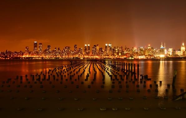 Picture new york city, pier, hudson river, weehawken