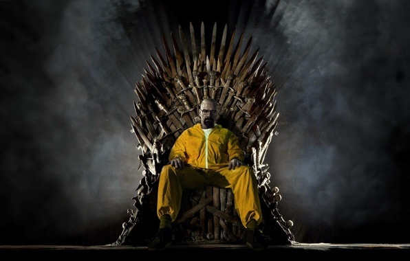 Picture the series, swords, the throne, Breaking bad, Breaking Bad, Game of thrones, Bryan Cranston, Bryan …