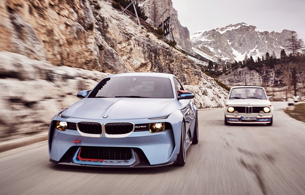 Picture auto, Concept, BMW, speed, BMW, grille, and, acceleration, 2002, Hommage, nostrils, 02 Series