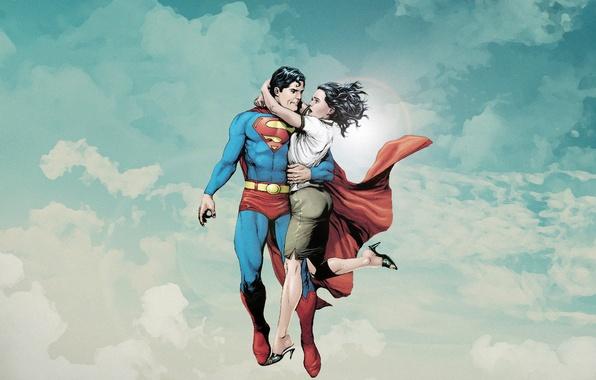 Picture comics, Superman, dc universe, Lois Lane