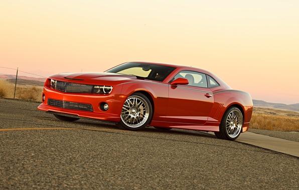 Picture road, auto, tuning, muscle car, Chevrolet Camaro, Chevrolet Camaro