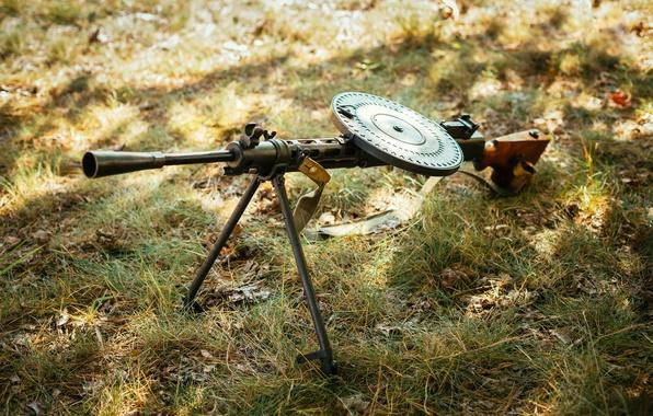 Picture the sun, rays, light, glade, blur, cartridge, machine gun, USSR, max, camouflage, shop, WWII, equipment, …