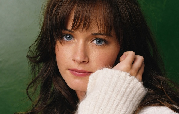 Picture look, movie, actress, the series, brown hair, Alexis Bledel