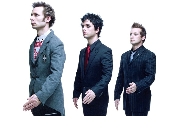 Picture music, group, rock, punk, Green Day, Billie Joe Armstrong, Michael Ryan Pritchard, Frank Edwin Wright …