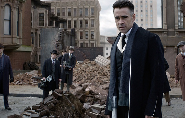 Picture cinema, USA, magic, New York, man, movie, Harry Potter, Colin Farrell, film, suit, wizard, witch, …