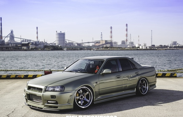Picture nissan, turbo, skyline, jdm, tuning, r34, nismo