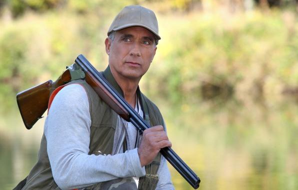 Picture shotgun, hunter, alert, hunting