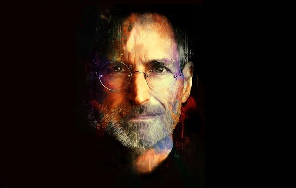 Picture background, apple, rip, Steve jobs, steve jobs, turk1672