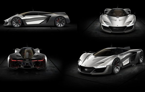 Picture Concept, the concept, supercar, Aero GT, Bell & Ross