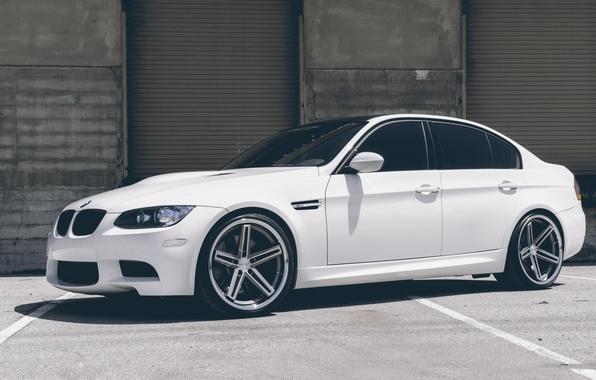 Picture BMW, White, BMW, White, E90, Concept One