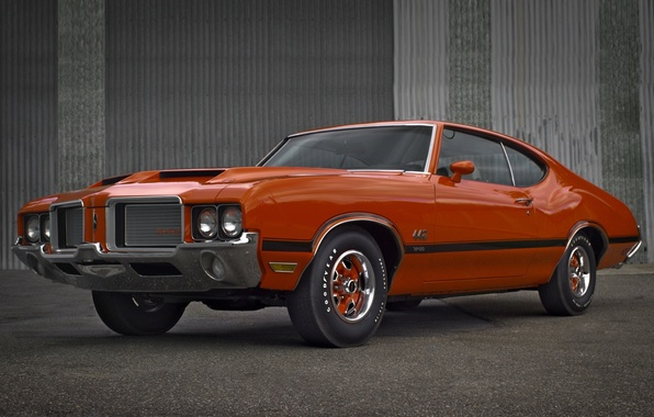 Picture background, coupe, Coupe, the front, Holiday, Muscle car, 1972, Muscle car, 442, Oldsmobile, The Oldsmobile, …
