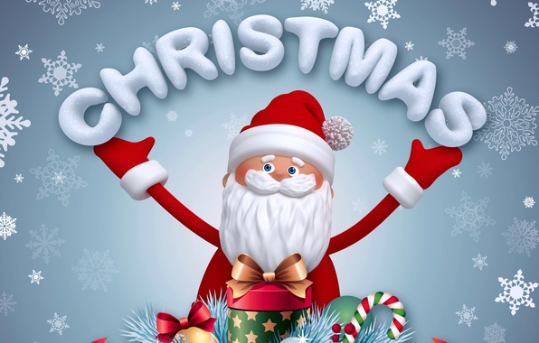 Picture new year, Christmas, christmas, new year, Santa Claus, Santa, santa claus, santa, banner