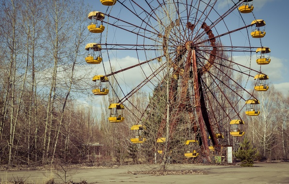 Picture Chernobyl, Pripyat, lost places
