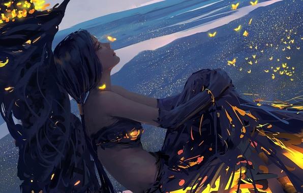 Picture fantasy, Girl, art