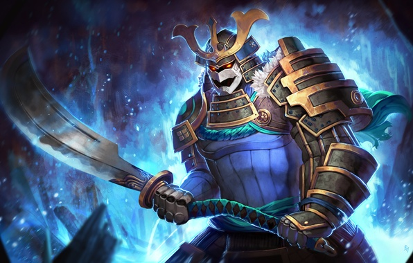 wallpaper sven sword art warrior samurai dota 2 rogue knight