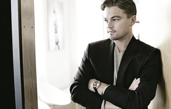 Picture watch, male, actor, jacket, actor, Leonardo DiCaprio, Leonardo DiCaprio