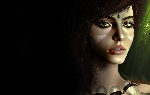 Picture the game, art, character, league of legends, nidalee