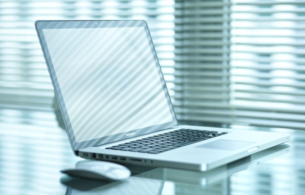 Picture table, Apple, mouse, laptop, MacBook Pro