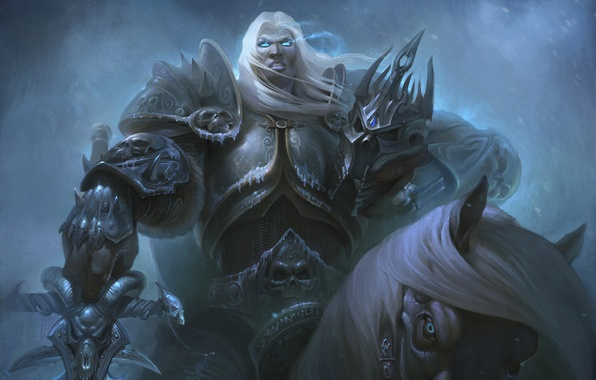 Picture WoW, World of Warcraft, warcraft, arthas, Knight of the Silver Hand, Prince of Lordaeron, arthas …