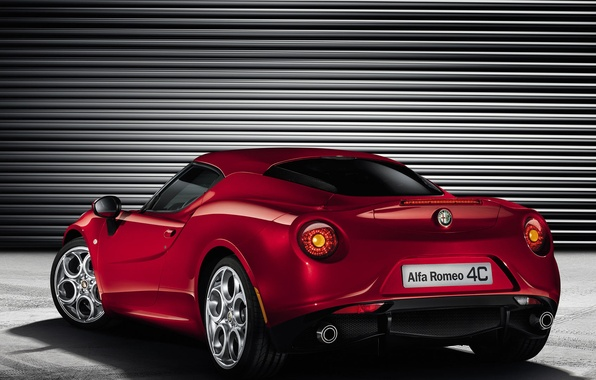 Photo wallpaper Alfa Romeo, Roadster