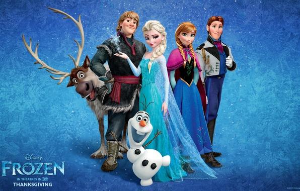 Picture Frozen, Walt Disney, 2013, Cold Heart, Animation Studios