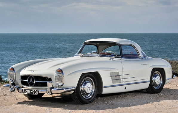 Picture Mercedes-Benz, Mercedes, classic, the front, 300, 1957