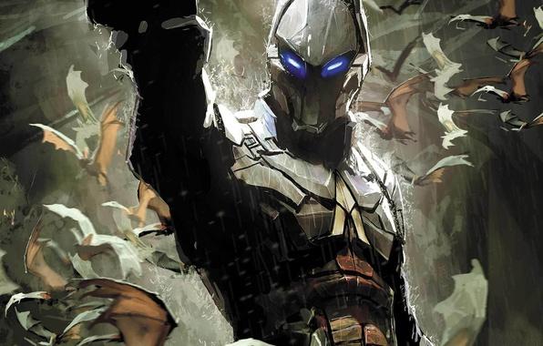 Picture Comic, DC Comics, Batman: Arkham Knight, Arkham Knight, Batman: Arkham Knight - Genesis