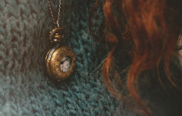 Picture watch, pendant, sweater