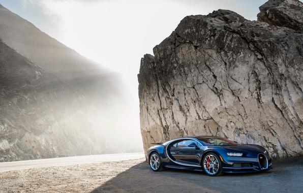 Picture car, auto, light, Wallpaper, Bugatti, Bugatti, wallpapers, Chiron