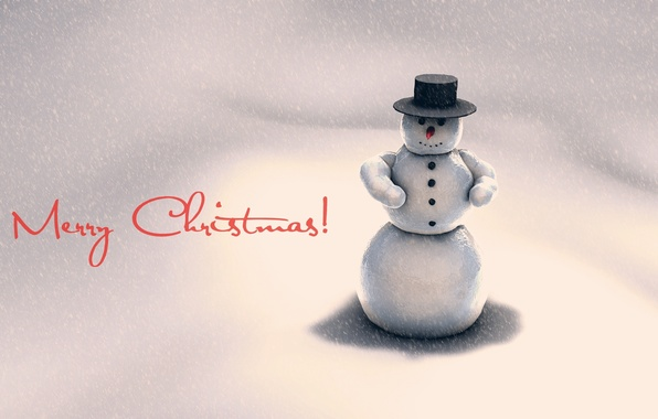 Picture cold, winter, snow, holiday, new year, snowman, new year, holiday, snowman