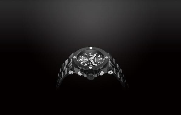 Picture metal, white, black, watch, Jack Pierre