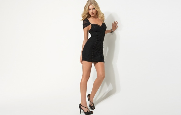 Picture chest, look, girl, sexy, background, model, dress, blonde, legs, sexy, beauty, waist, Victoria's Secret Angels, ...