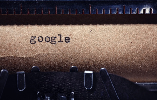 Picture google, paper, ink, typewriter